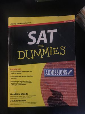 SAT for Dummies for Sale in San Diego, CA