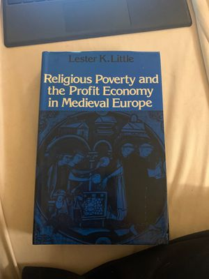 Religious Poverty and the Profit Economy in Medieval Europe by Lester K. Little for Sale in Bellevue, WA