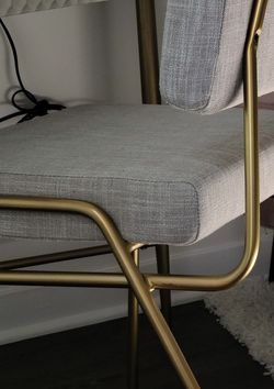 4 West Elm Modern Chairs -3 Gray & 1 Blue for Sale in Culver City,  CA
