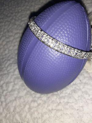 Silver Diamond Bracelet for Sale in DW GDNS, TX