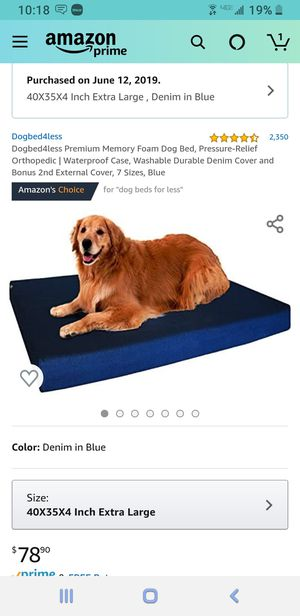 "Dog bed 35 x 40 x 4"" for Sale in Chandler, AZ"