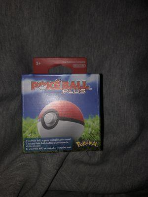 Nintendo switch poke ball plus for Sale in Federal Way, WA