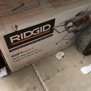 Ridgid Table Saw for Sale in Glendale, AZ