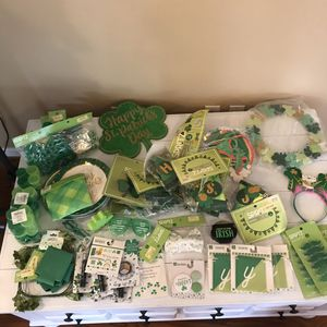 St. Patrick's Day party kit decorations for Sale in Franklin, TN