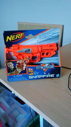 Nerf n strike snapfire gun for Sale in Nashville, TN