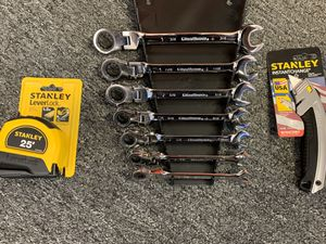 Someone like tools for Christmas? Gearwrench 7 pc. SAE wrench set for Sale in Ripon, CA