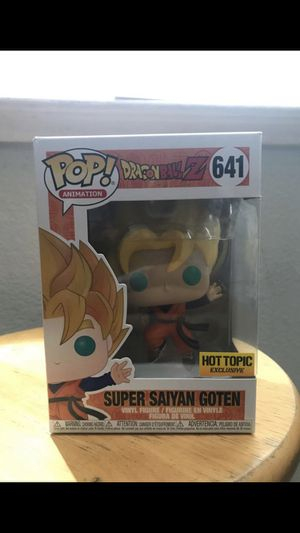 Dragon ball Z gotens funko pop for Sale in Modesto, CA
