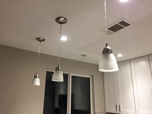 Pendant lights (set of 3) for Sale in Austin, TX