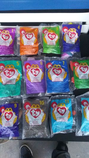 Mcdonalds beanie babies collection set for Sale in Puyallup, WA