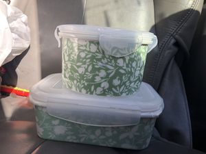 Threshold Porcelain Storage container for Sale in Redwood City, CA