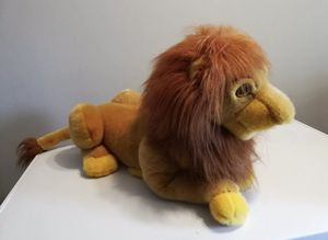 "Lion King Plush Simba Mufasa Puppet Plush 22"" Large Vintage Walt Disney Co Toy for Sale in Warwick, RI"