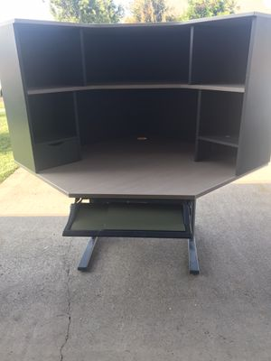 IKEA Corner desk with detached top shelves - 2 pieces for Sale in Placentia, CA