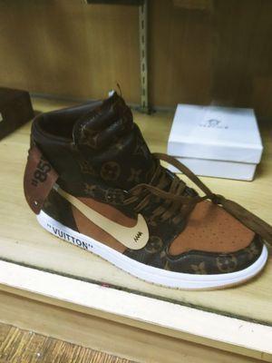 Louis Vuitton shoes authentic wear genuine leather Louis Vuitton patterns $350 for Sale in Washington, DC