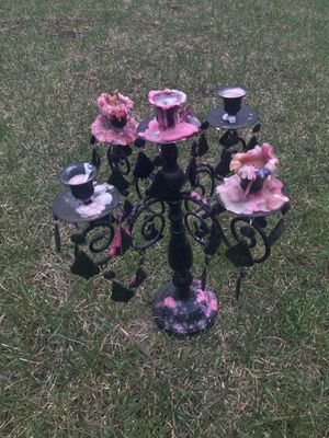 Gothic Halloween vintage look candelabra for Sale in Chicago, IL