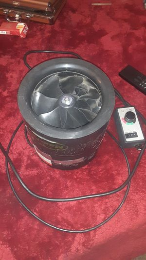 "Can fan 8"" inline max fan. High 667 cfm. Comes with adjustable fan speed adapter for Sale in Denver, CO"