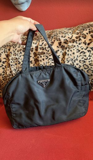 Authentic PRADA Velo Satchel Boston Bag for Sale in Los Angeles, CA