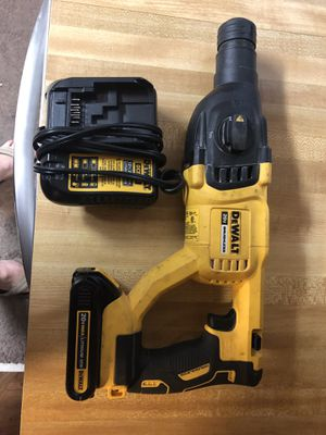 Dewalt SDS plus brushless hammer with (1) batt and charger asking 180 firm in N Lakeland for Sale in Lakeland, FL