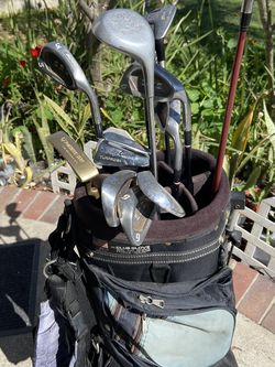 Golf clubs and bag for Sale in Cerritos,  CA