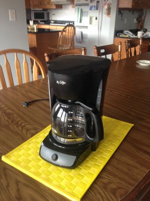 Mr. Coffee maker for Sale in Bedford Park, IL
