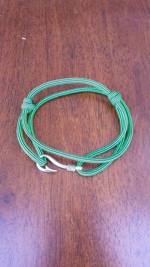 Paracord fish hook bracelet for Sale in Houston, TX
