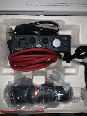 Focusrite interface for Sale in Salt Lake City, UT