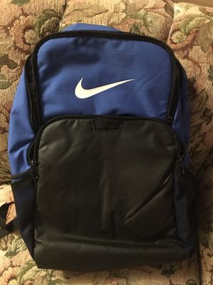 Nike Brasilia XLarge Backpack 9.0, game royal/black/white for Sale in Aston, PA