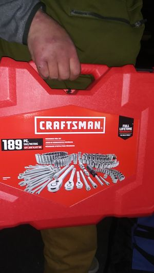 189pc craftsman socketset for Sale in Portland, OR