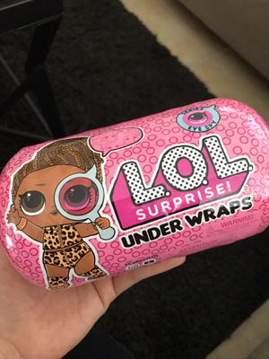 Lol surprise under wraps doll for Sale in Riverside, CA