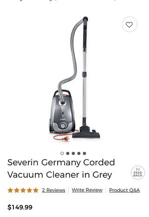 Severin Germany Corded Vacuum Cleaner in Grey for Sale in Norwalk, CA