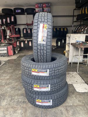 LT265/75R16 FOUR BRAND NEW TIRES , INSTALLATION & BALANCING INCLUDED for Sale in Rialto, CA