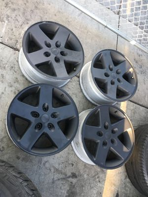 "Used Jeep Oem rims side 17"" no tires for Sale in San Diego, CA"