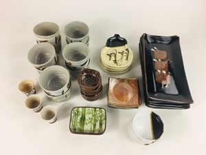 Assortment Of Japanese Ceramic, Glass And Porcelain Dishware (1017567) for Sale, used for sale  South San Francisco, CA