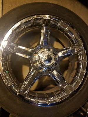"""22""""rims with tires for Sale in Lynchburg, VA"""