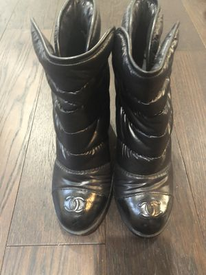 Chanel black boots for Sale in Capitol Heights, MD
