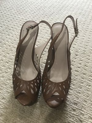 Brown Peep-Toe Heels for Sale in Commerce Charter Township, MI
