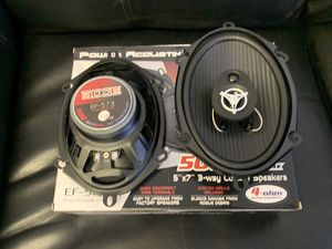 Power acoustic car audio 5x7 6x8 car stereo speakers . 500 watts . New for Sale in Mesa, AZ