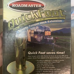 Travel Trailer Tongue Jack Extension, New In Box for Sale in Tualatin, OR
