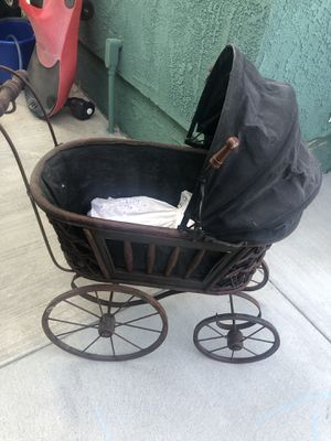 1950's Antique Baby Doll Carriage for Sale in Torrance, CA