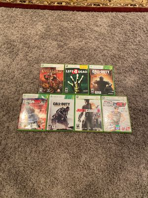 7 Xbox 360 games for Sale in Dublin, OH