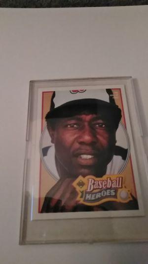 Baseball Heroes Upper Deck Card#26 *Hank Aaron for Sale in Shelton, CT