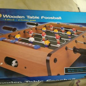 Wooden Table Foosball for Sale in North Smithfield, RI