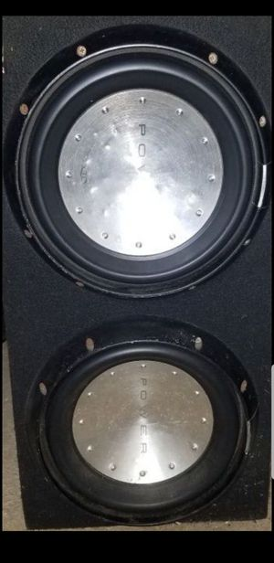 2 rockford fostgate t1's subs only no box for Sale in Glenarden, MD