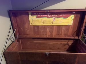 Antique cavalier hope chest for Sale in Cloverdale, IN