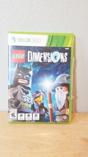 Xbox Lego Dimensions Game Complete with Original Manual for Sale in Huntington Beach, CA
