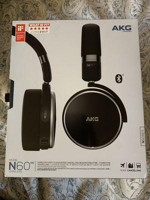 AKG Model N60 Noise Canceling Wireless Headphones for Sale in Rancho Cucamonga, CA
