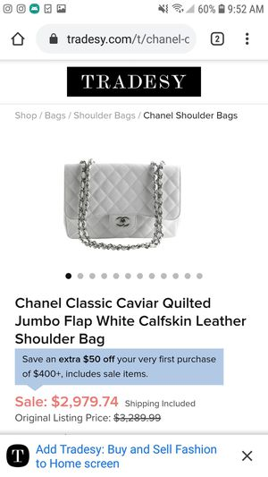 Chanel classic caviar quilted for Sale in Arlington, TX
