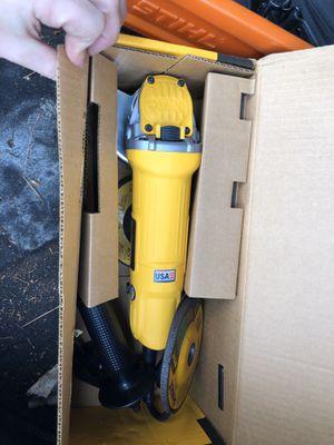New dewalt grinder for Sale in Albany, GA