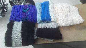 3 crochet blanks for Sale in Port St. Lucie, FL