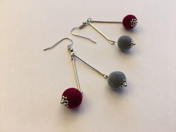 Furball Earring Jewelry