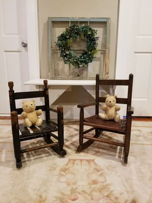 Antique childrens rocking chairs for Sale in Norfolk, VA